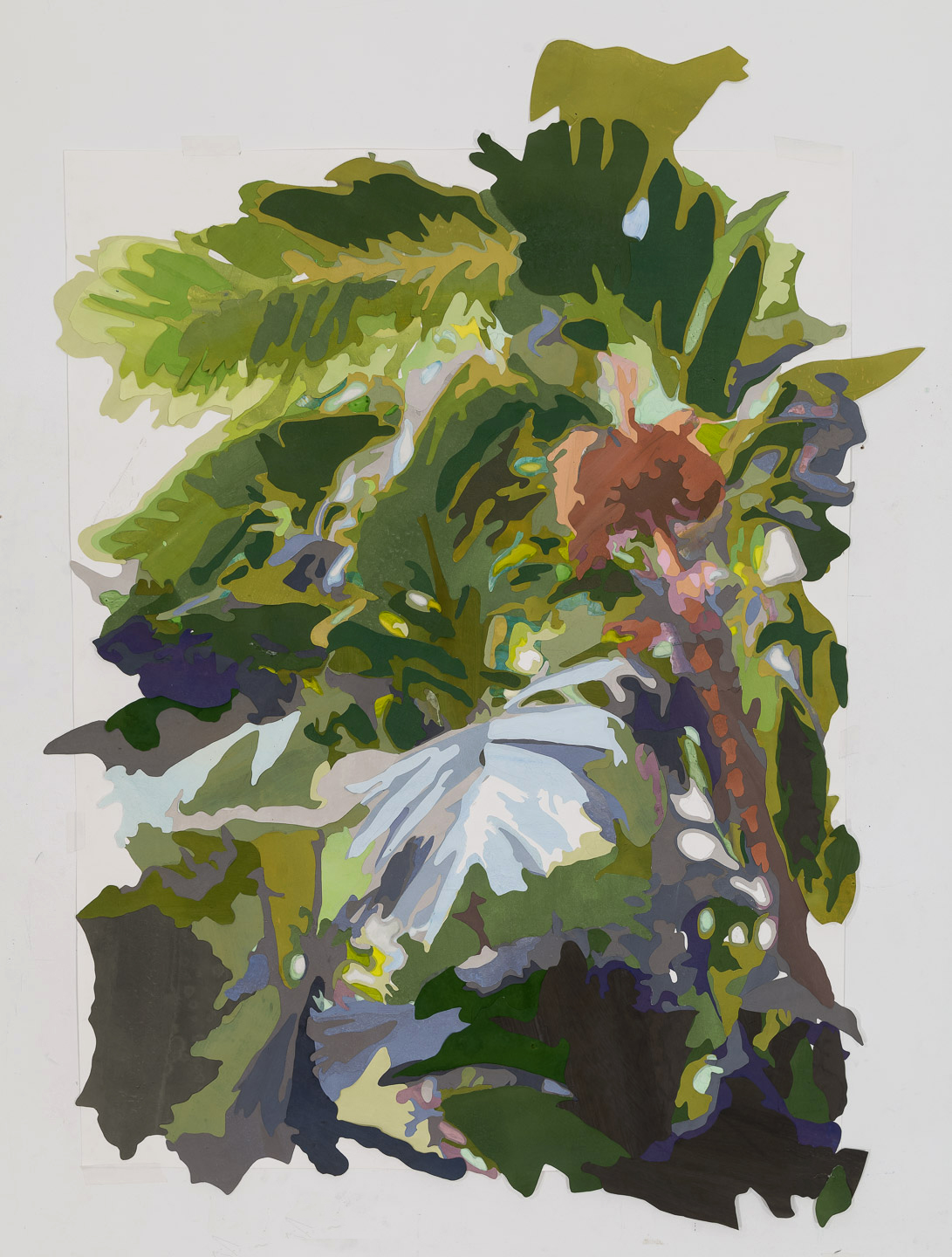 Scene from a Cultivated Jungle (view I), 2015