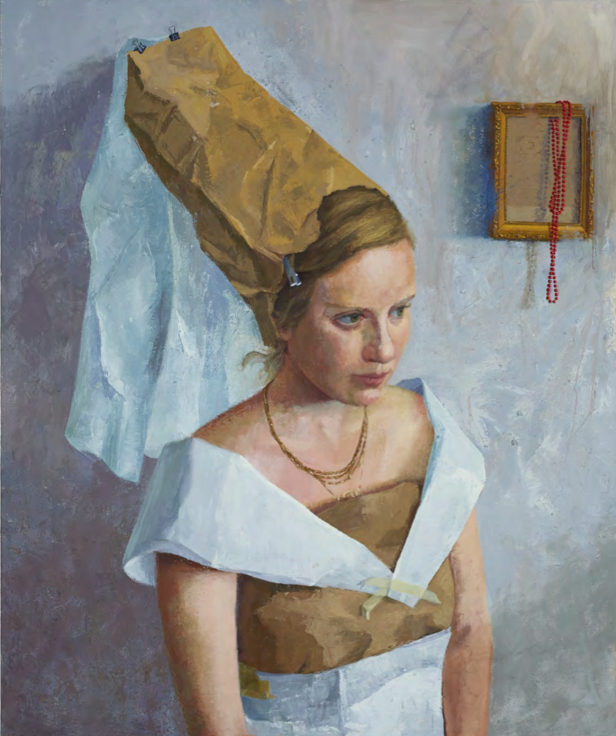 Portrait of Adi as Maria Portinari, 2014