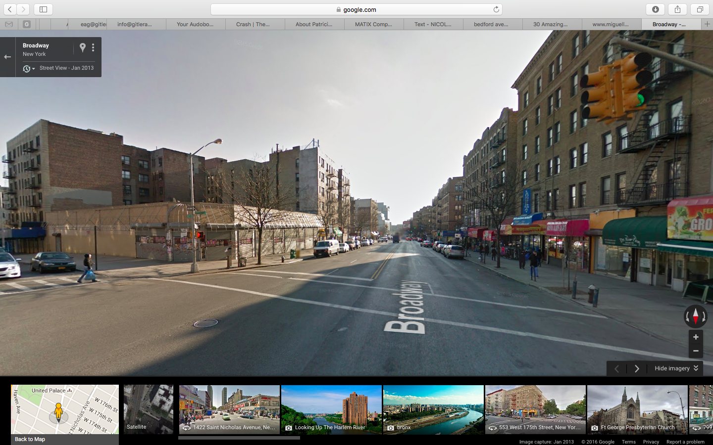 broadway - 172 and 173 3/4