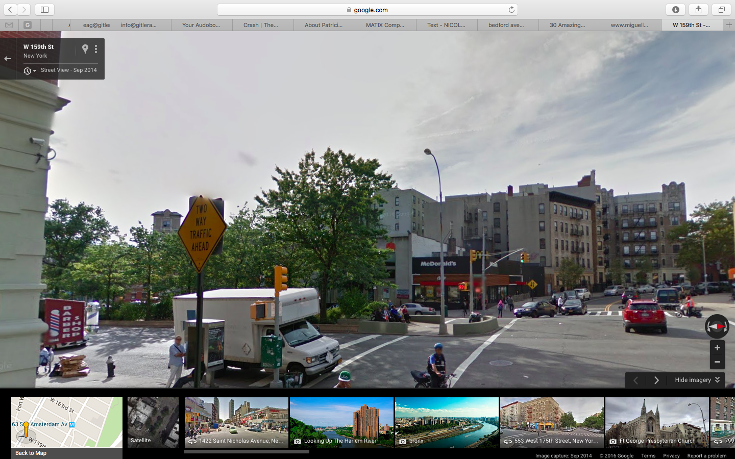 fort washington ave - 159 and broadway 1/3