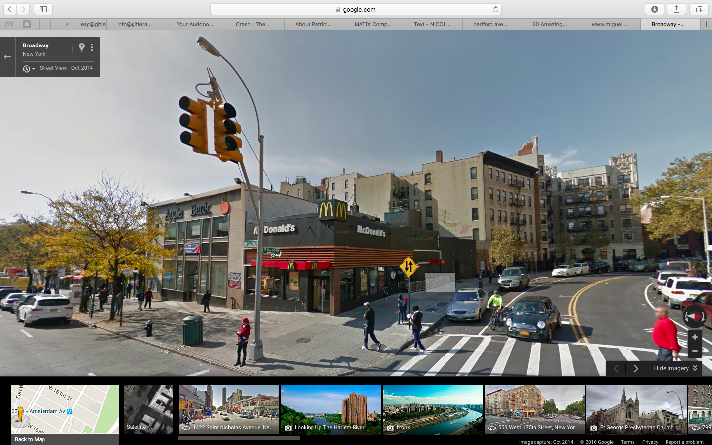 fort washington ave - 159 and broadway 2/3