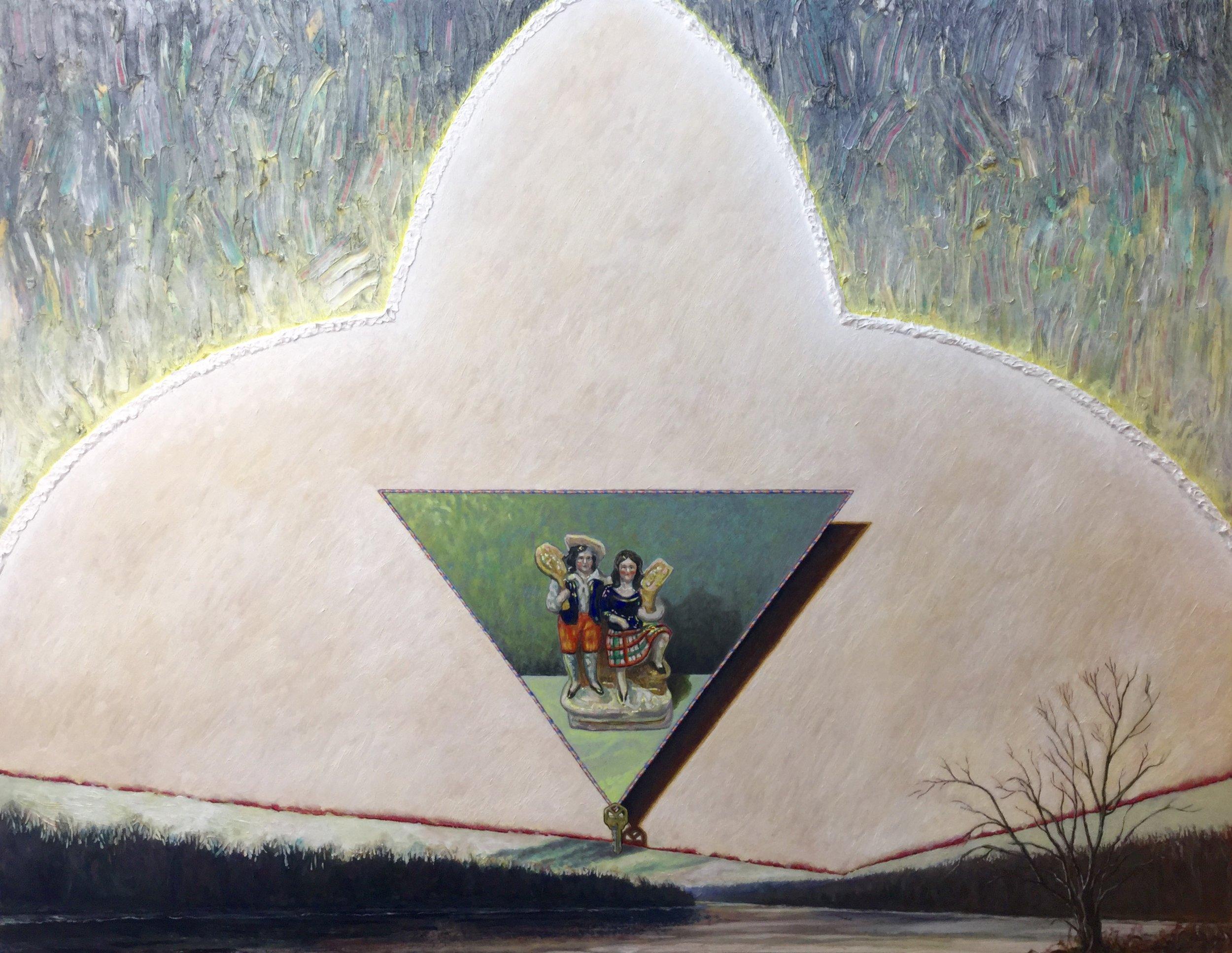 Graham Preston, -fleur de lis-,oil on panel, 43 x55 inches.JPG