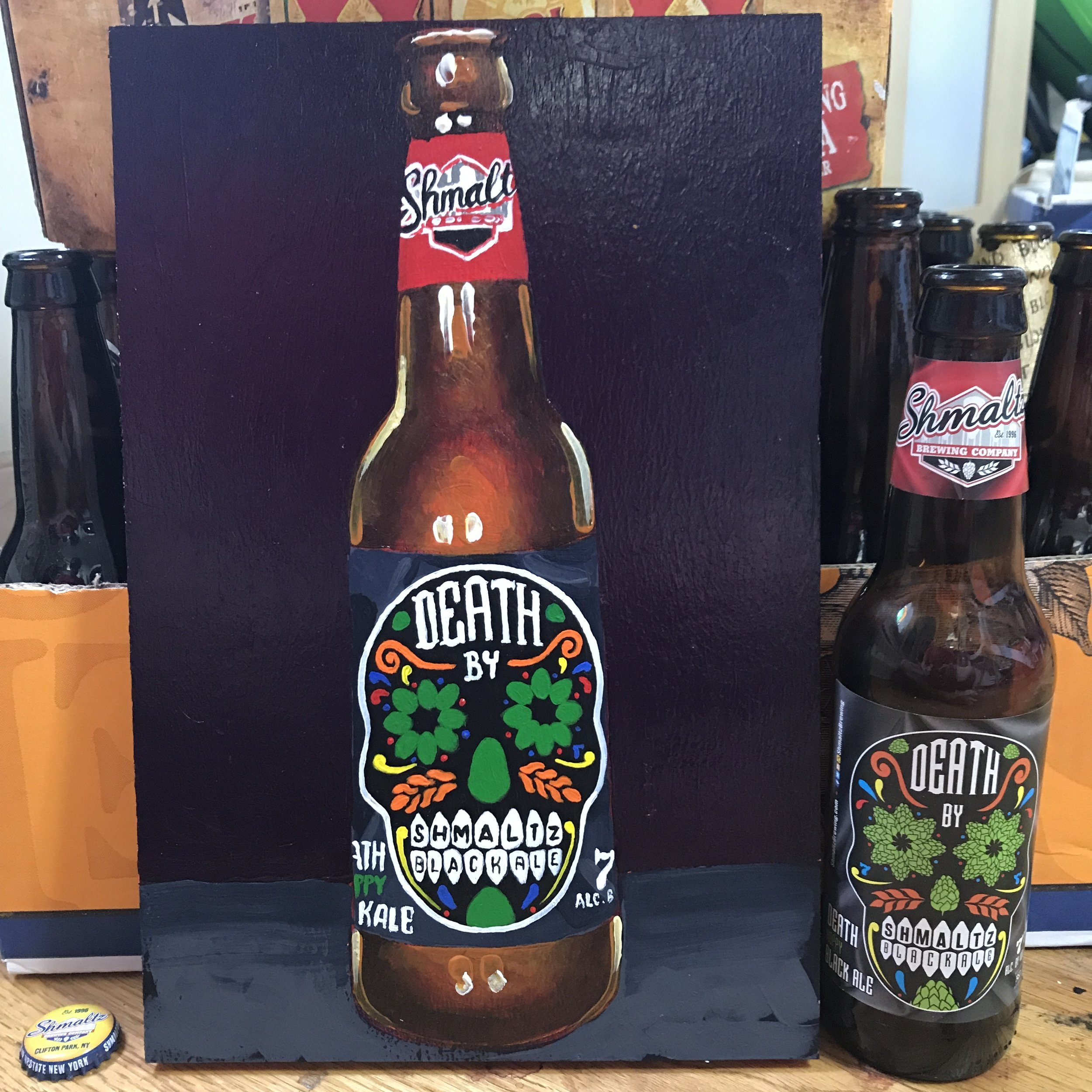 59 Schmaltz Death Hoppy Black Ale (USA)