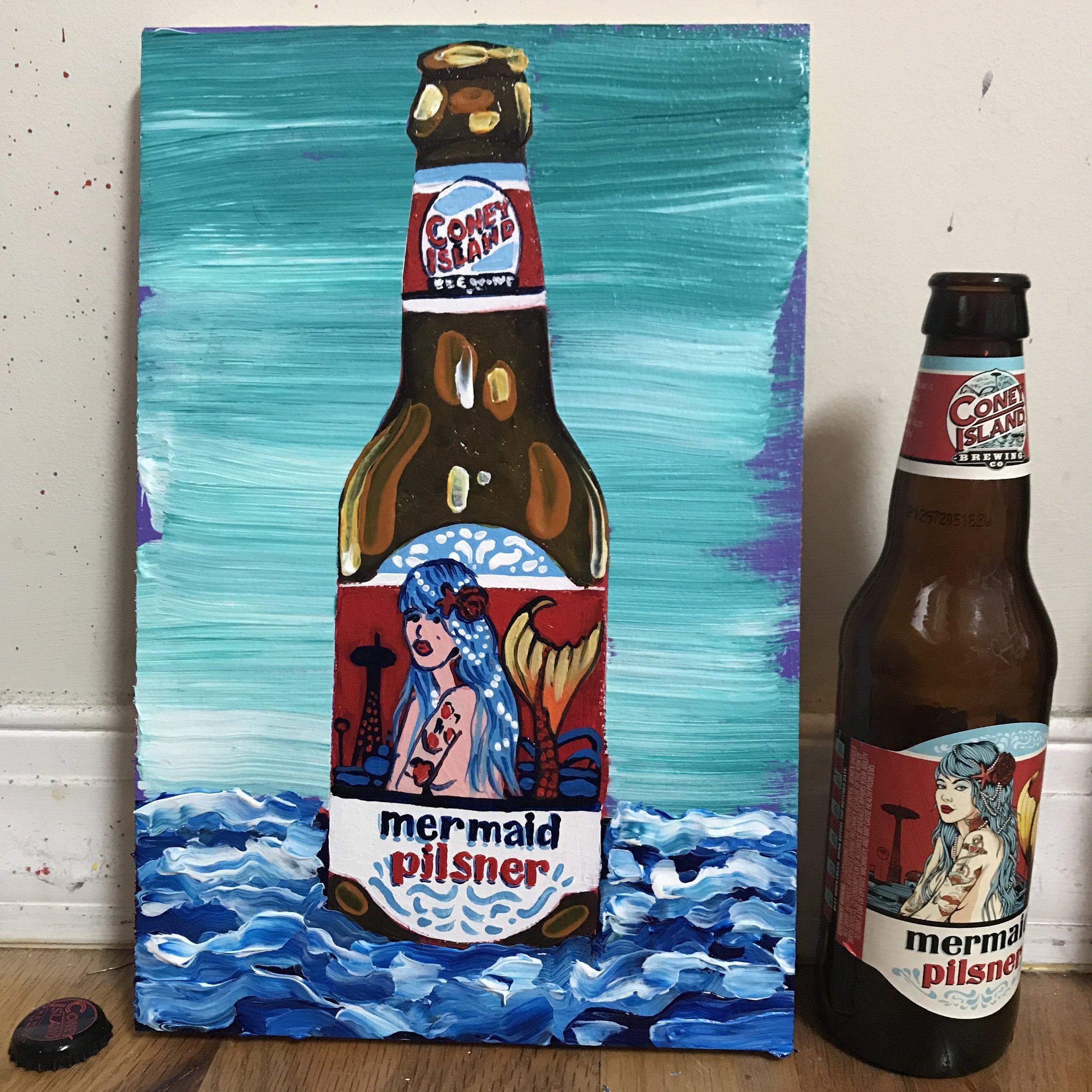 60 Coney Island mermaid pilsner (USA)