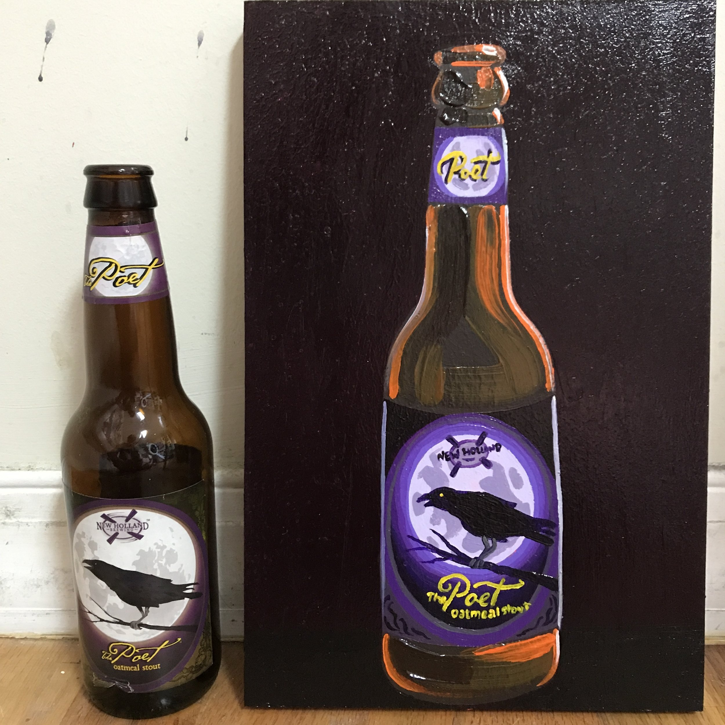 82 New Holland The Poet Oatmeal Stout (USA)