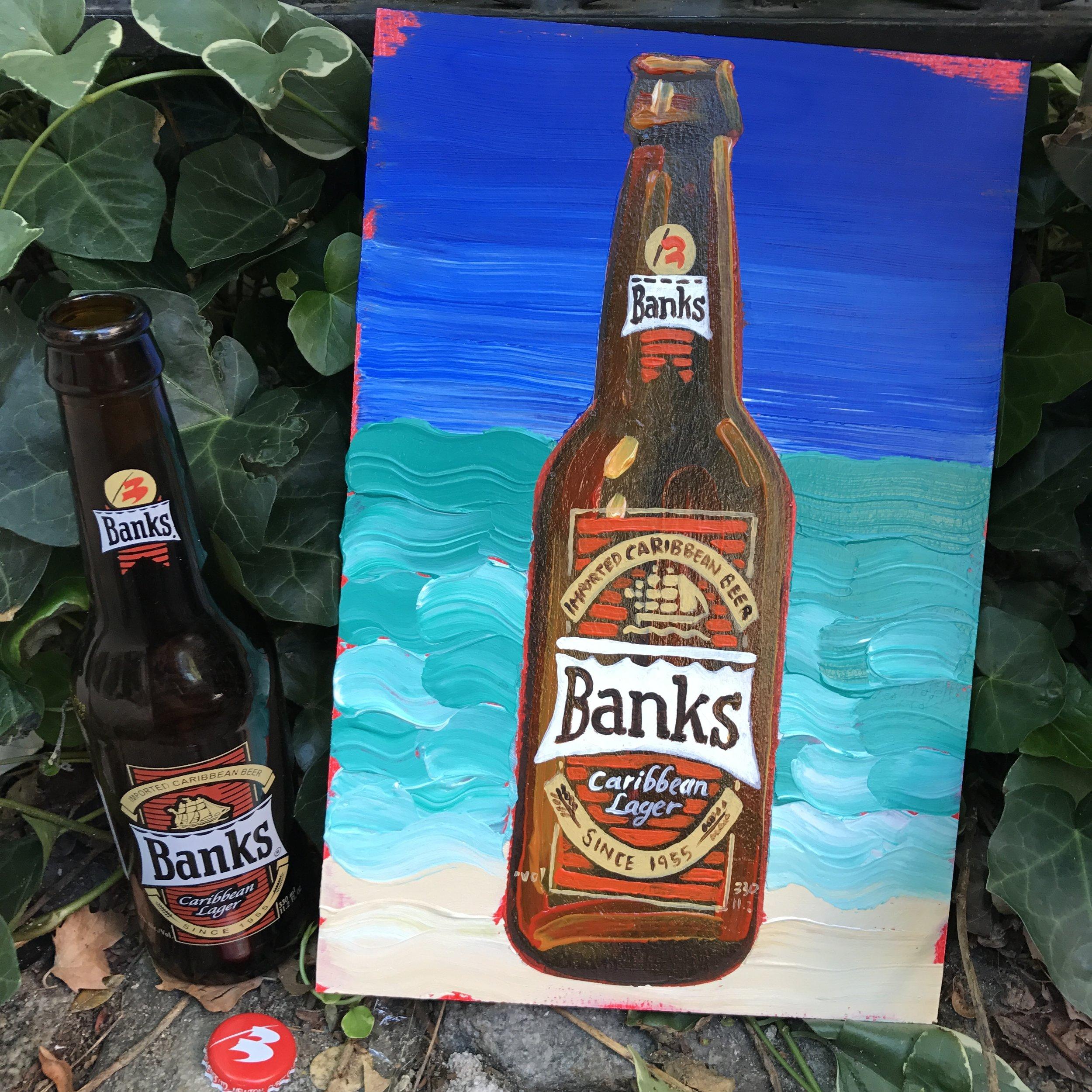 11 Banks Caribbean Lager (Barbados)