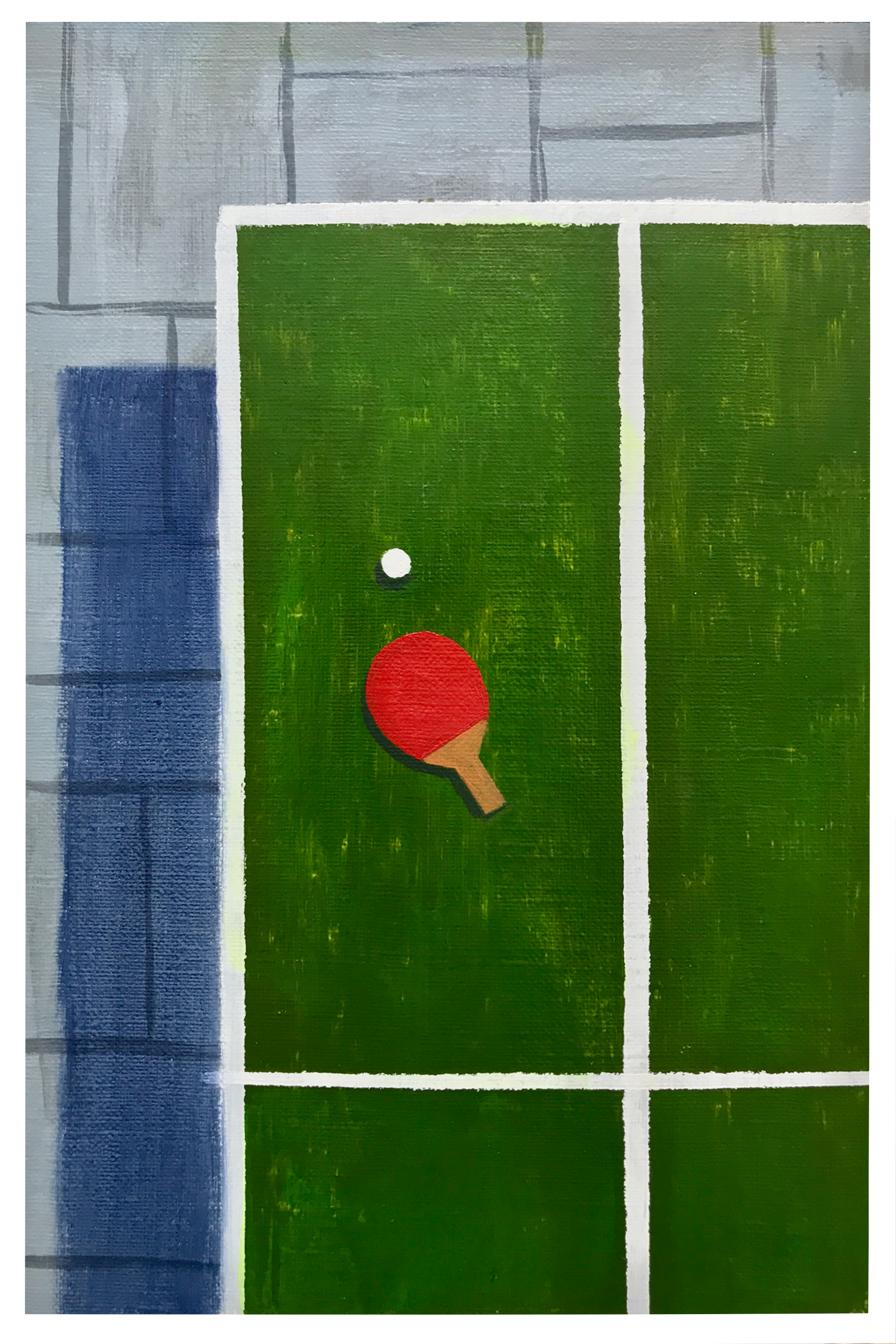 Ping Pong, 9 x 6 in.