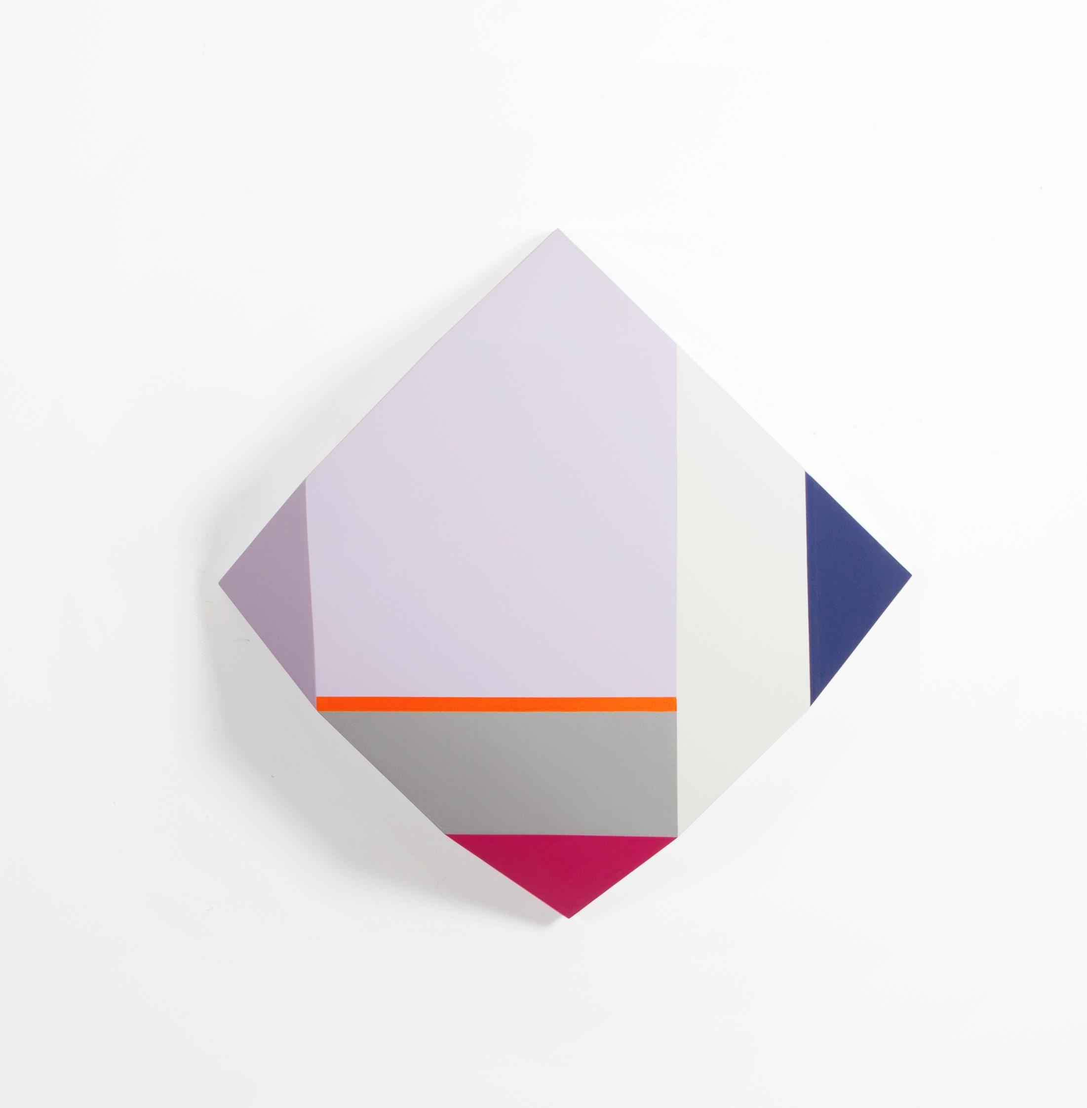 Zin Helena Song   Origami 1 #38   2015   Mixed Media on Wood   28 x 28 x 6 in.