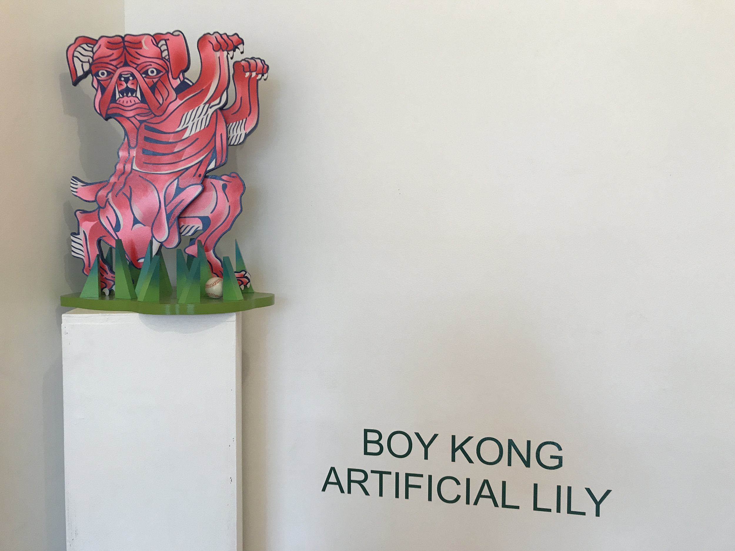Boy Kong: Artificial Lily