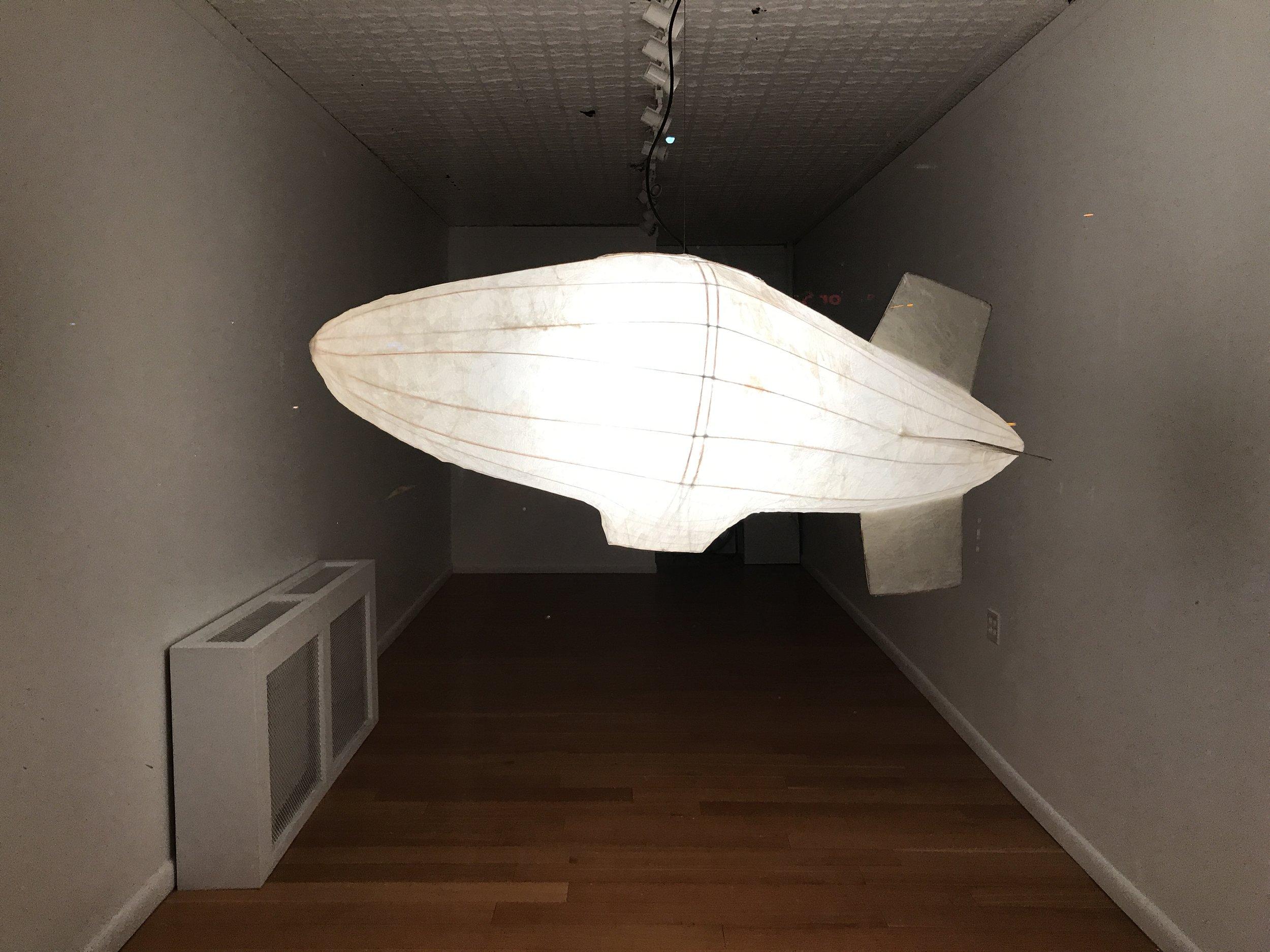 Pedro Villalta: Zeppelin Lamp