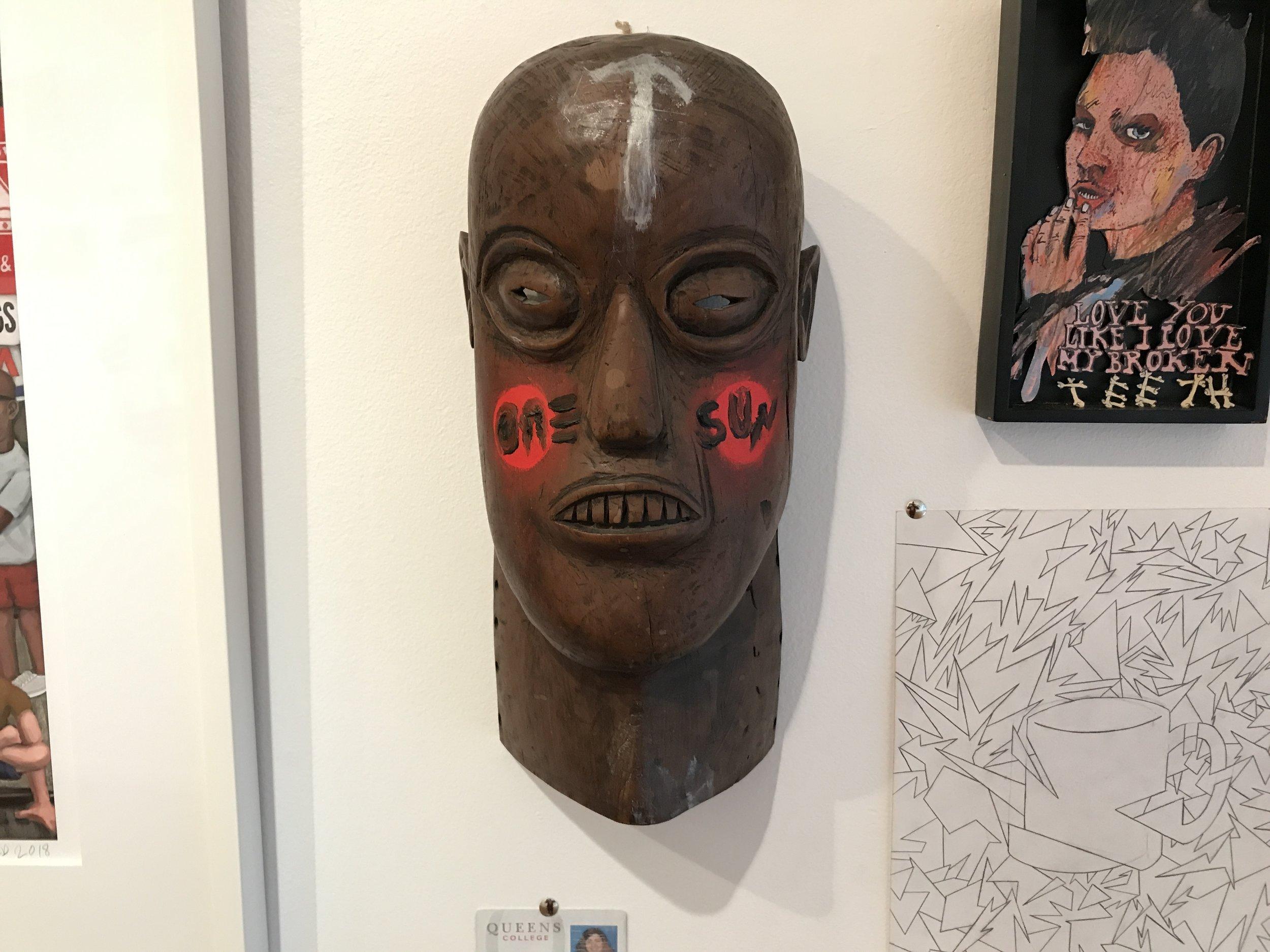 One-Sun Mask (One-Sun, Artist)