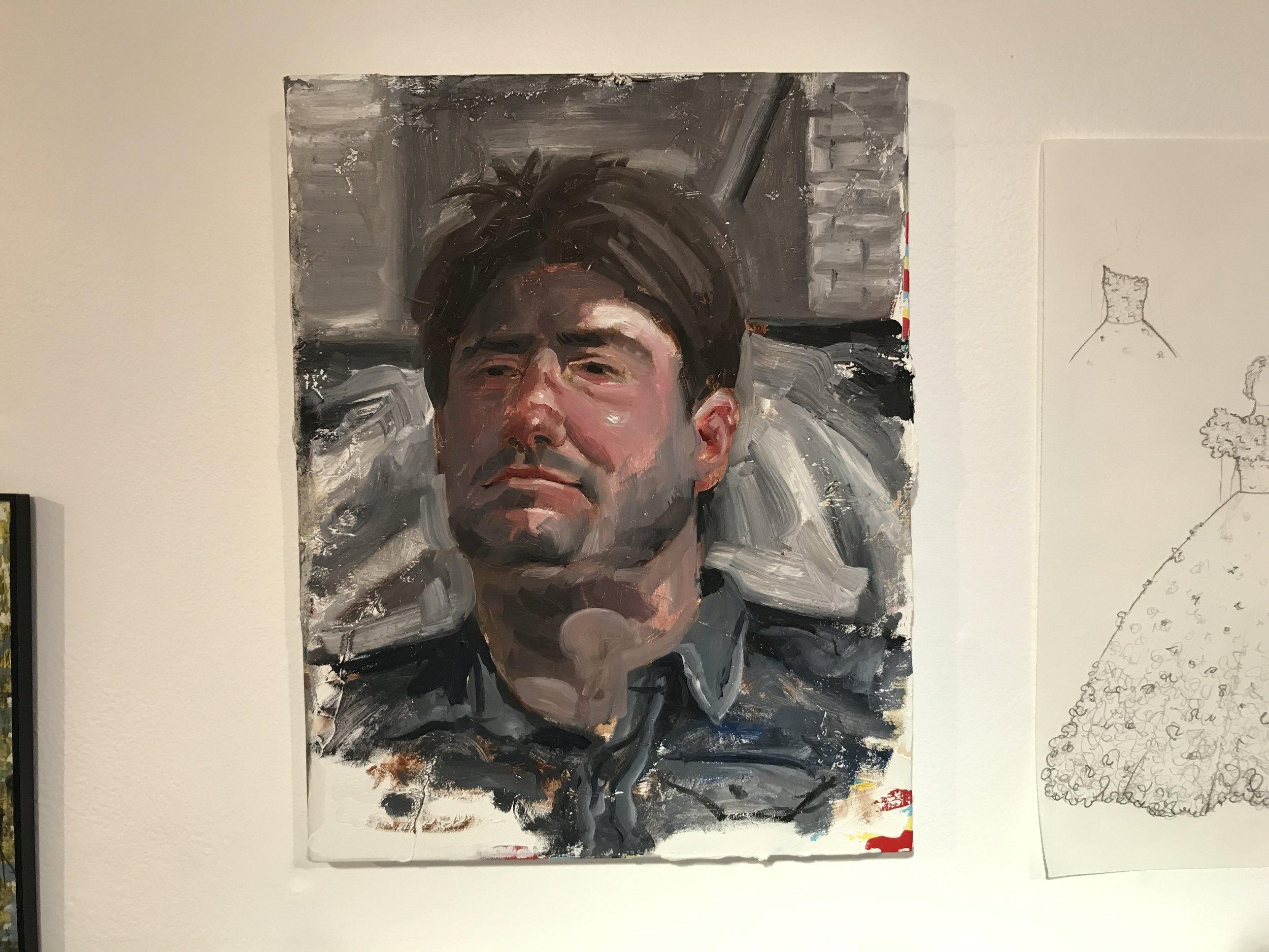 Portrait of Tom Sanford (Peter Daverington, Artist)