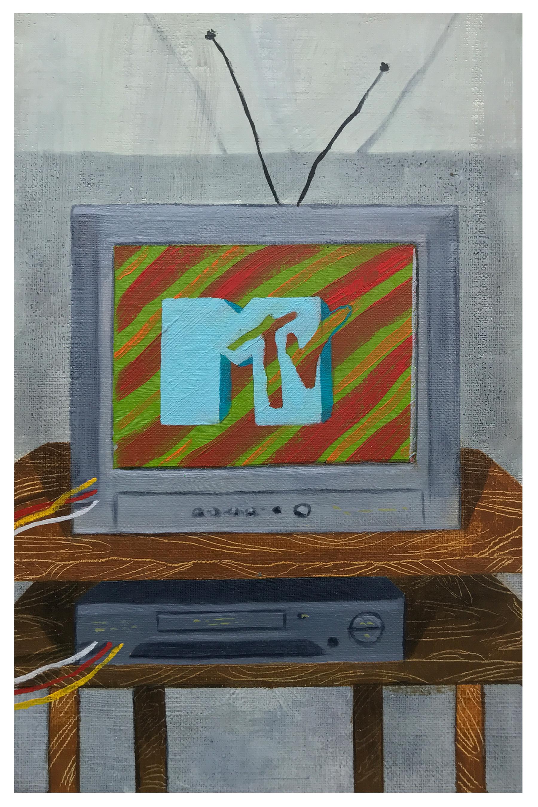 MTV, 9 x 6 in.