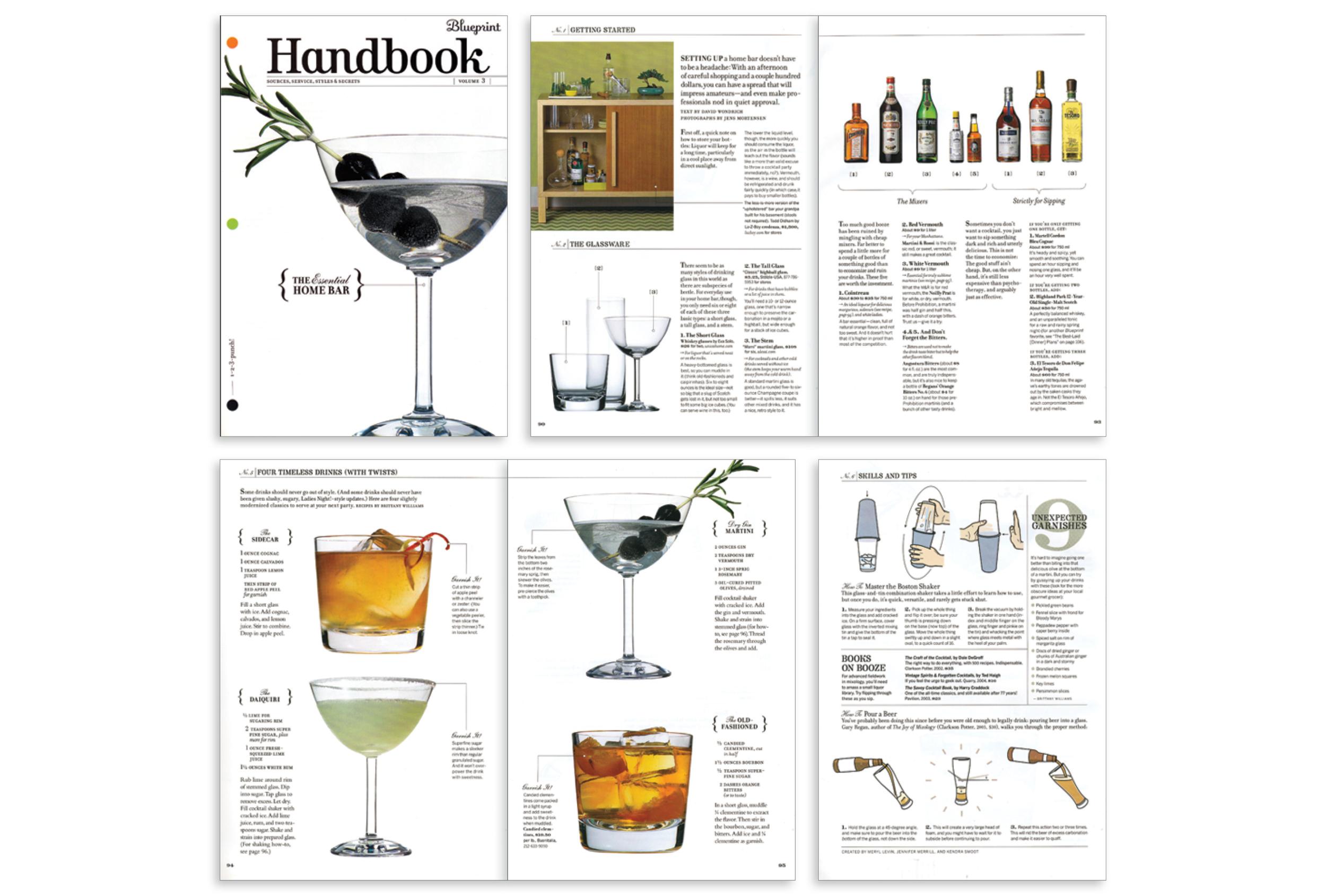 Handbook: Home Bar