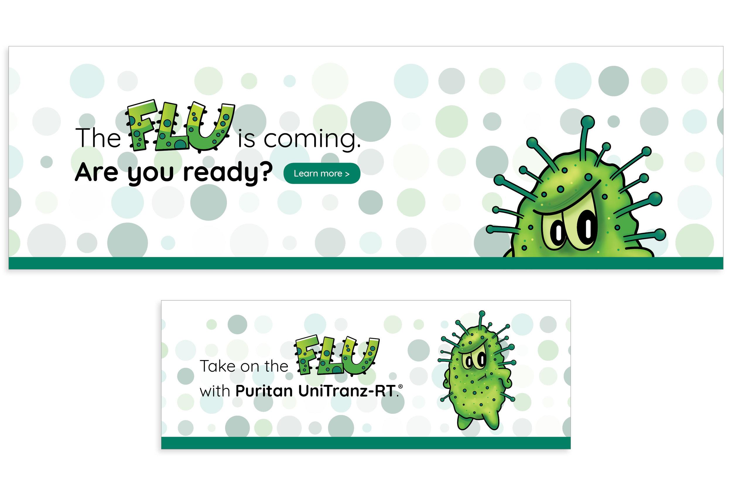 Flu Campaign Web Banners
