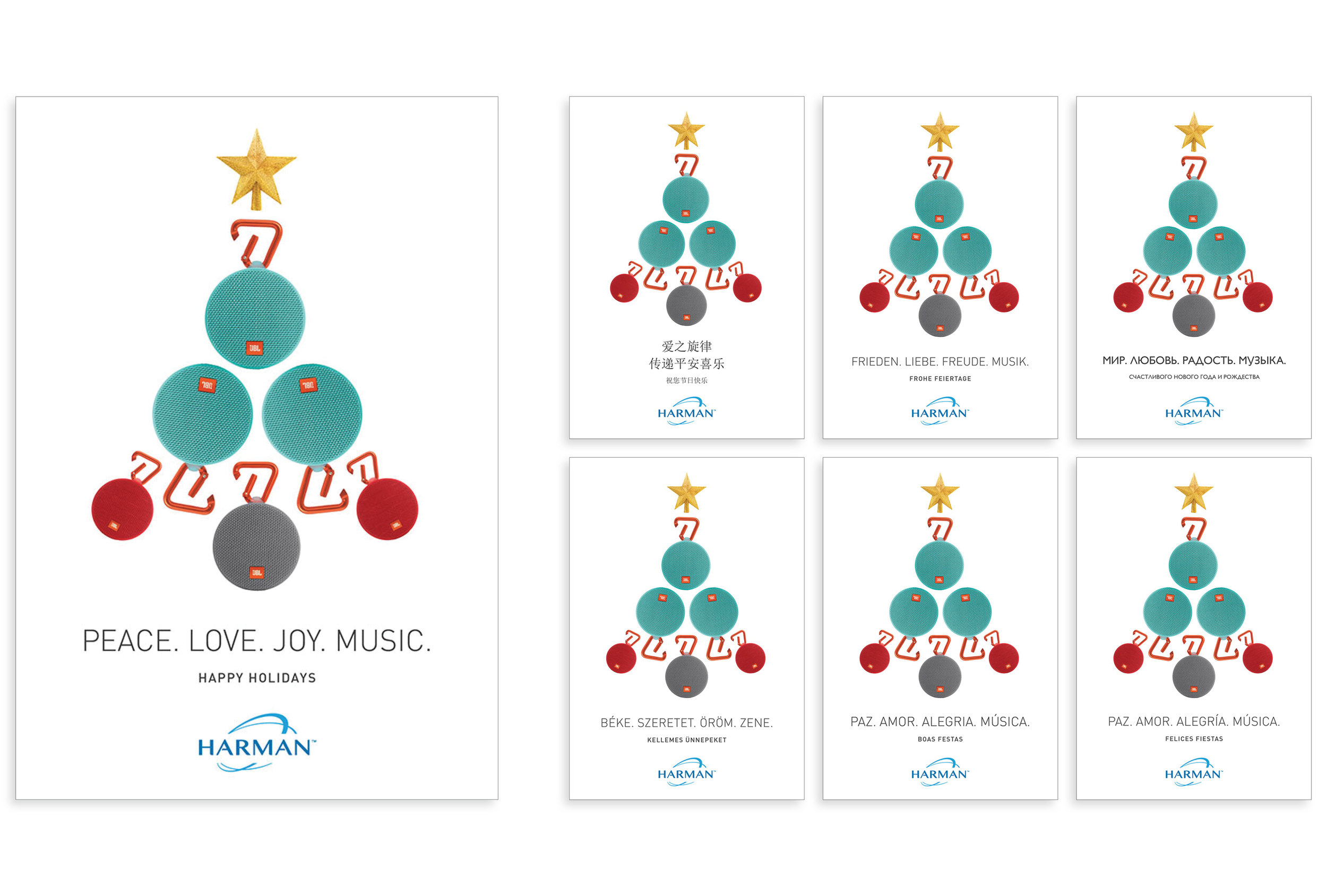International Holiday Email Card