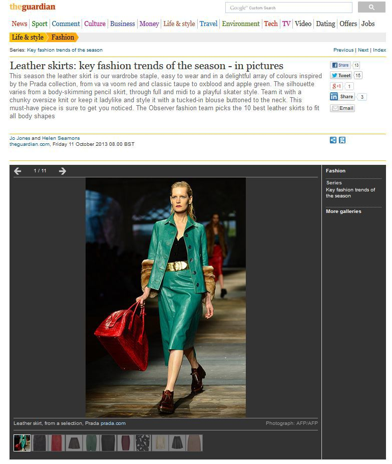 "Normal   0           false   false   false     EN-GB   X-NONE   X-NONE                                                                               See the catwalk inspiration for this season's hottest piece of clothing on  the Guardian fashion pages                                                                                                                                                                                                                                                                                                   /* Style Definitions */  table.MsoNormalTable 	{mso-style-name:""Table Normal""; 	mso-tstyle-rowband-size:0; 	mso-tstyle-colband-size:0; 	mso-style-noshow:yes; 	mso-style-priority:99; 	mso-style-qformat:yes; 	mso-style-parent:""""; 	mso-padding-alt:0cm 5.4pt 0cm 5.4pt; 	mso-para-margin-top:0cm; 	mso-para-margin-right:0cm; 	mso-para-margin-bottom:10.0pt; 	mso-para-margin-left:0cm; 	line-height:115%; 	mso-pagination:widow-orphan; 	font-size:11.0pt; 	font-family:""Calibri"",""sans-serif""; 	mso-ascii-font-family:Calibri; 	mso-ascii-theme-font:minor-latin; 	mso-fareast-font-family:""Times New Roman""; 	mso-fareast-theme-font:minor-fareast; 	mso-hansi-font-family:Calibri; 	mso-hansi-theme-font:minor-latin;}"