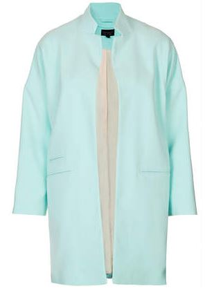 Topshop Notch neck throw on coat £75.00