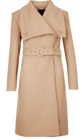 Ted Baker draped front coat £299