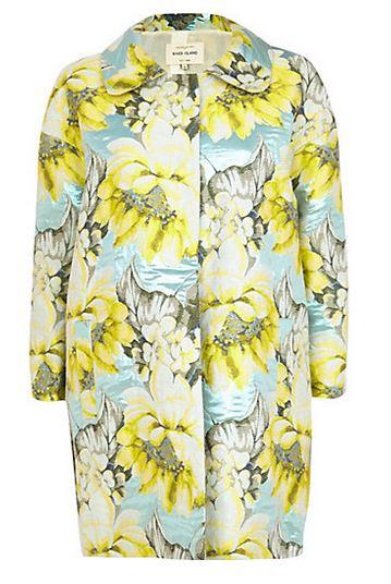 River island floral coat £95.00