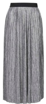 TOPSHOP PLEATED MARL SKIRT £30.00