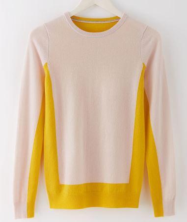 Boden crew neck cashmere jumper - £129.00