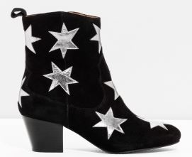 Starry Suede boots, £125, &other stories