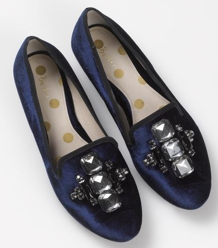 Sparkle slipper shoes, £62.65, Boden