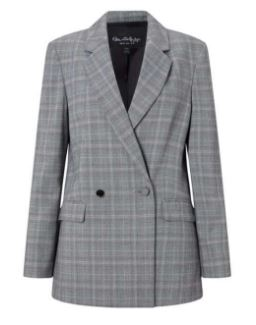 Check jacket - MIss Selfridge £45.00