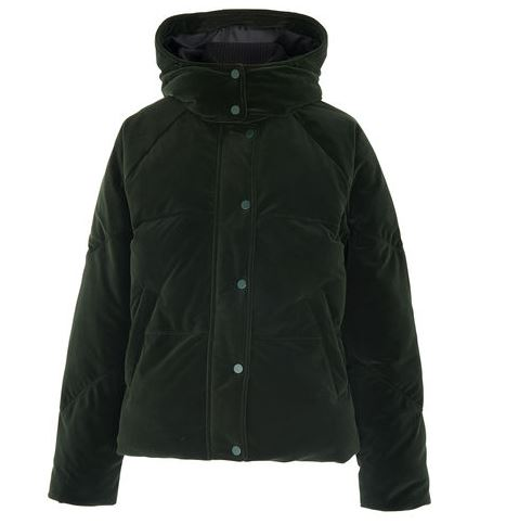 Velvet Iva Puffer Jacket, Whistles £127.20 House of Fraser