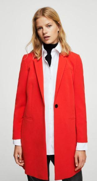 Masculine structure coat, Mango, £39.99