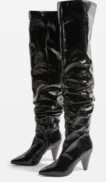 Boxer High leg boots, Topshop £99.99