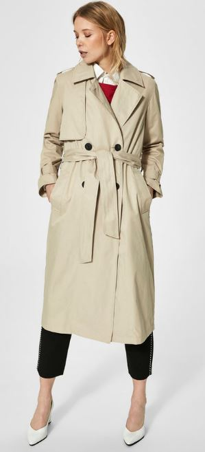 Classic trench, Selected Femme £160.00