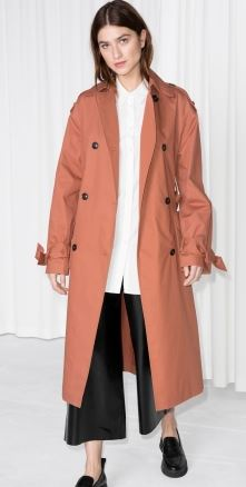 Belted over sized trench, &other stories £125