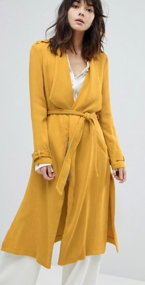 Belted duster coat, River Island at ASOS £68.00