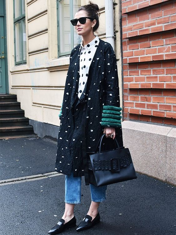 Double spot - Wearing 2 different pieces in spots gives the print a fresh take and you an updated look.