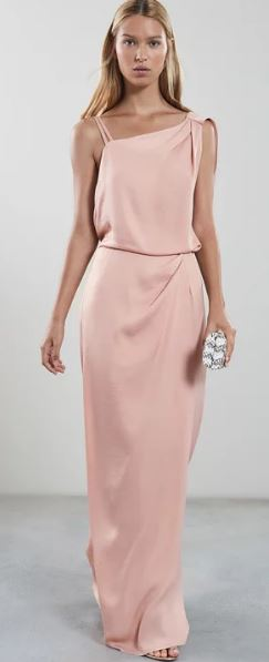 Ostia Maxi one shoulder dress, £225.00, Reiss