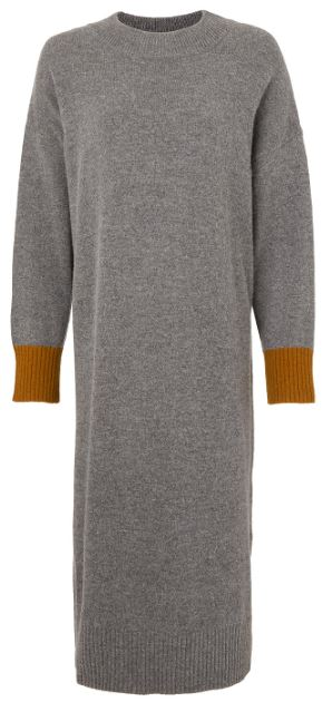 Contrast colour knitted dress, Kin, John Lewis, £79.00
