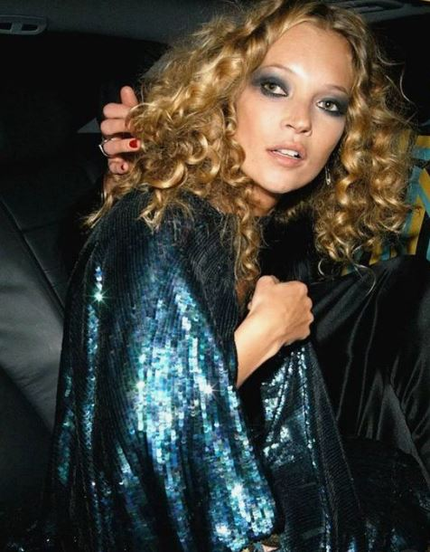 Channel your inner Kate Moss this Christmas…