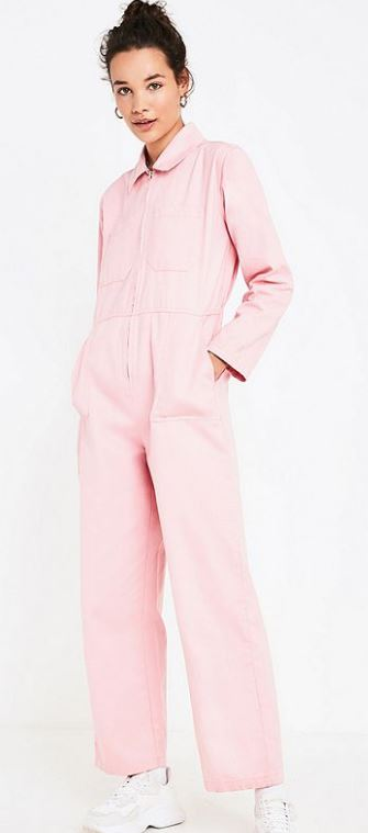 UO rosie pink utility jumpsuit, Urban Outfitters, £79