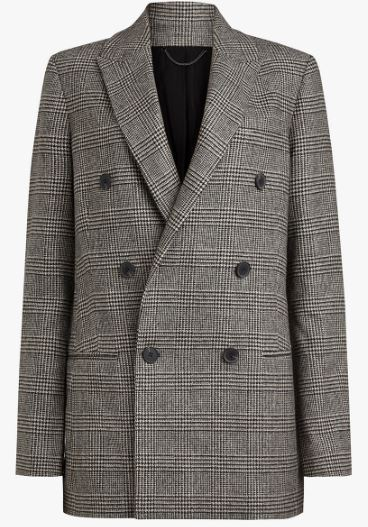Astrid Check Blazer, All Saints, John Lewis, £258