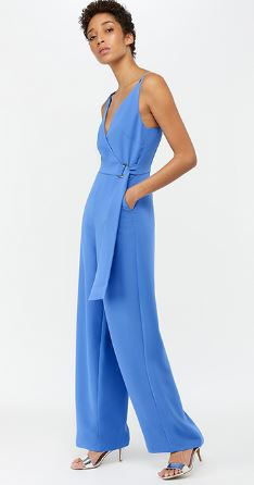 Pale blue jumpsuit, £55.00 (sale price), Monsoon