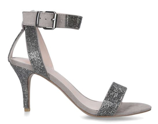 Godiva embellished heels, £129.00, Kurt Geiger