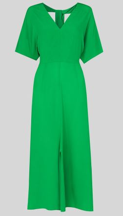 Green Zelana Dress, £159.00, Whistles