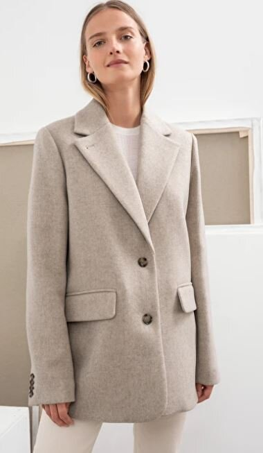 Wool oversized blazer, &other stories, £159