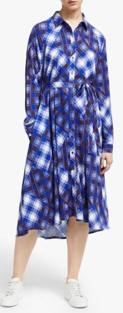Gestuz check shirt dress, John Lewis, £150.00
