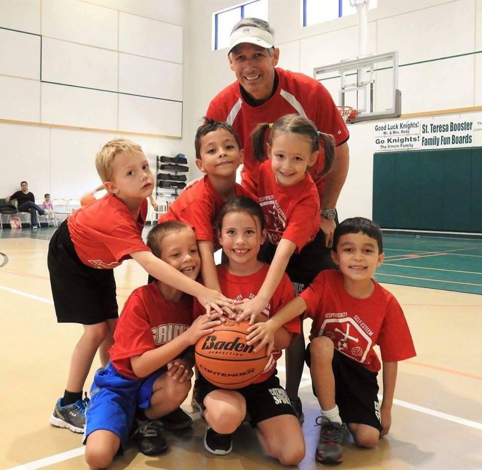 2016-2017 Kindergarten Basketball Team