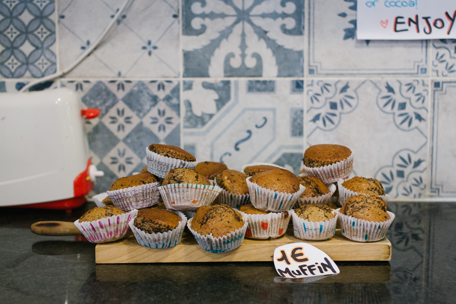 Cristina used to sell muffins (and it worked)