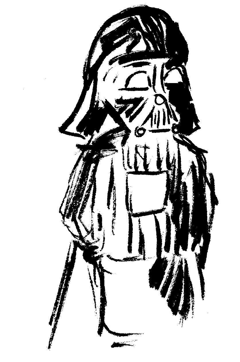 Darth Vader - Age 5: The Star Wars obsession invaded all aspects of life for a year and a half. He went classic Sith. It was not DIY.