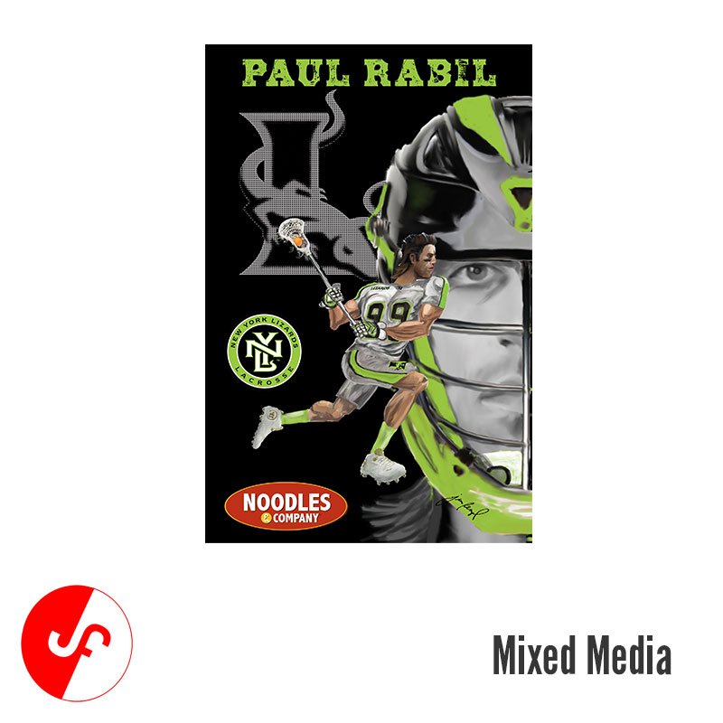 Lizards-Paul Rabil Poster